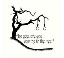 Hunger Games, Hanging Tree Art Print