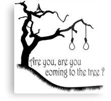 Hunger Games, Hanging Tree Metal Print