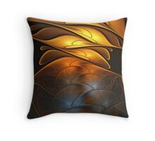 Glass and Gold Throw Pillow