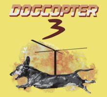 DogCopter 3 One Piece - Short Sleeve