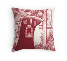 Graphic novel cover! Throw Pillow