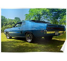 Ford Torino GT 1970 Poster