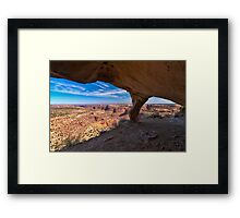 In the Alcove Framed Print