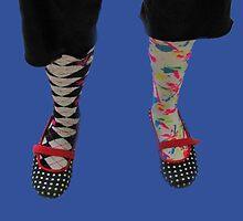 Mixed Up Feet by Linda Miller Gesualdo