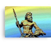 Sea God~King Neptune Canvas Print
