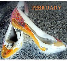 february shoes Photographic Print