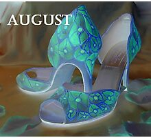 august shoes Photographic Print