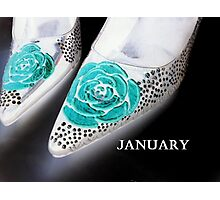 January Shoes Photographic Print