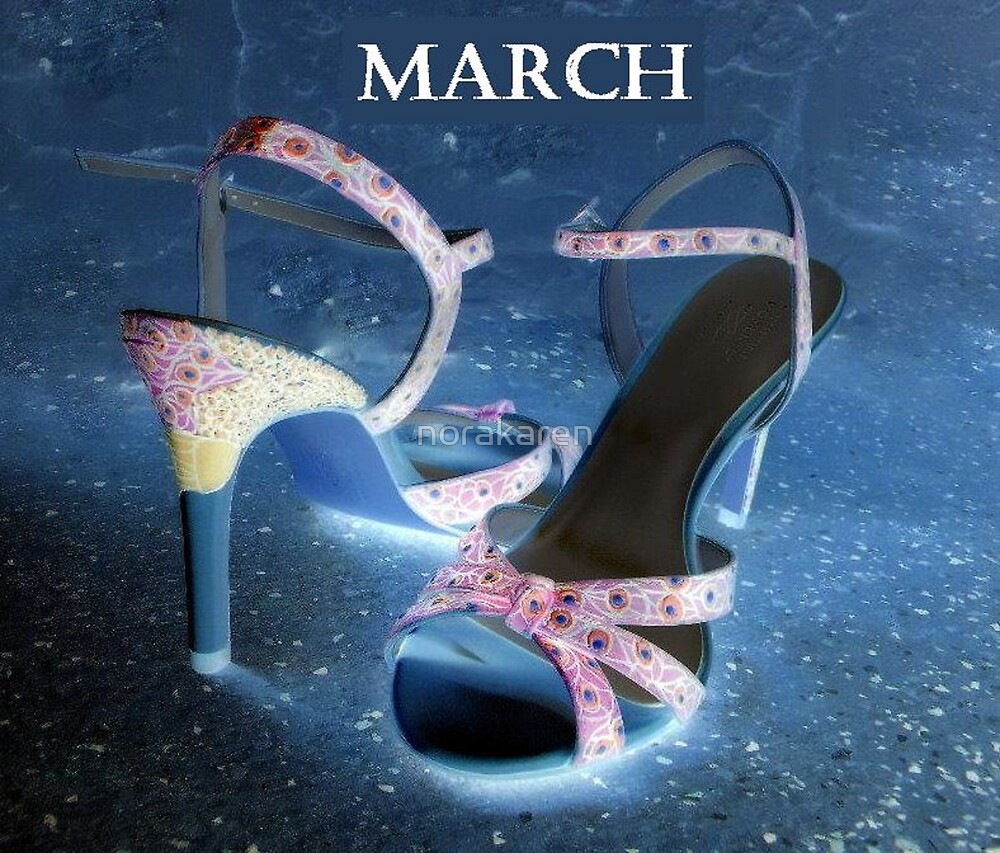March Shoes by norakaren