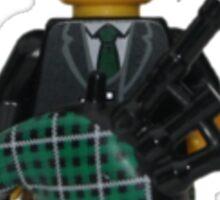 LEGO Bagpiper Sticker