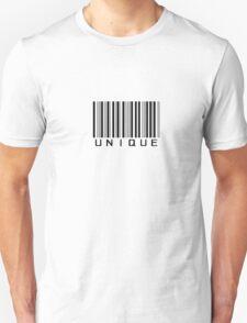 Unique barcode design Unisex T-Shirt