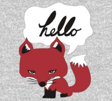 The Fox Says Hello Kids Clothes