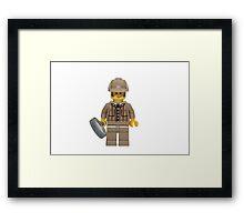 LEGO Detective Framed Print