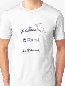 sleeper on the beach T-Shirt