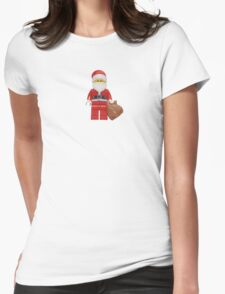 LEGO Santa Womens Fitted T-Shirt