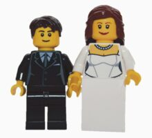 LEGO Bride and Groom One Piece - Long Sleeve