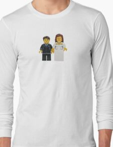 LEGO Bride and Groom Long Sleeve T-Shirt