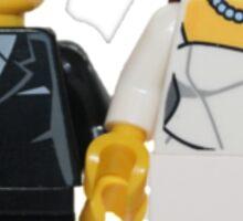 LEGO Bride and Groom Sticker