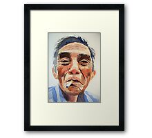 There was an old man from Halong Framed Print