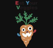Eat your Veggies - carrots   Kids Tee