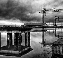 Samson and Goliath by De-aRt