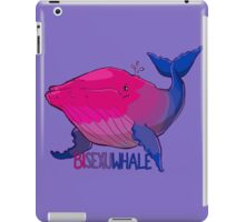 Bisexuwhale - with text iPad Case/Skin