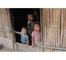 Hmong Children Photographic Print
