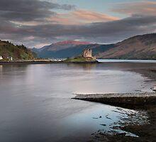 Eilean Donan Castle Sunset by SteveMG