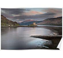 Eilean Donan Castle Sunset Poster