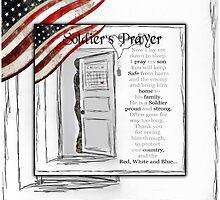 Soldier's Prayer ~ Ginkelmier by ginkelmier