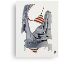 """Sexy Clothing lV"" Acrylic on Canvas Canvas Print"