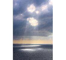 Cumulus Countenance Photographic Print