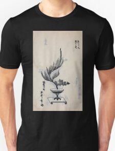 Yenshu ryu ikebana hiak bin no zu shiki konzatsu Flower arrangement in the Enshu style V2 1897 0008 T-Shirt