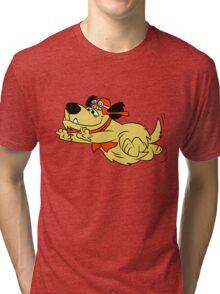 Run Muttley, Run Tri-blend T-Shirt