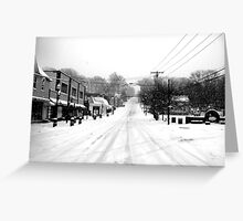 snOMG Greeting Card