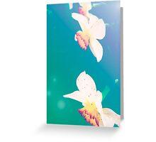 Ethereal Daffodils Greeting Card