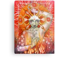 Materia: Fire Metal Print