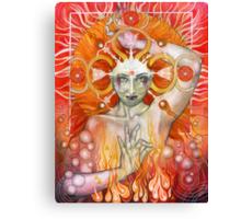Materia: Fire Canvas Print