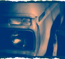 Vintage Truck -- Cyanotype by Ashley Frechette