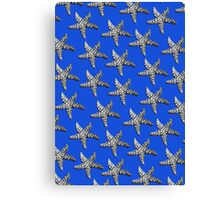 Starfish Blue Canvas Print