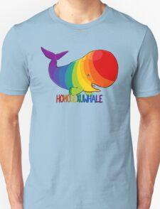 Homosexuwhale - with text Unisex T-Shirt