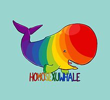 Homosexuwhale - with text by Kirstendraws