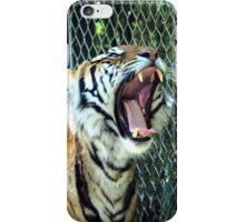 The Tiger Yawns Tonight iPhone Case/Skin