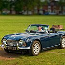 Triumph TR4 by Aggpup