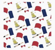 Doctor Who Pattern Kids Clothes