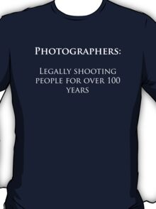 Photographers Dark T-Shirt