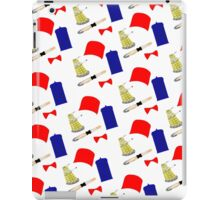 Doctor Who Pattern iPad Case/Skin