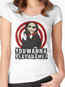 Billy - You wanna play a game? Women's Fitted Scoop T-Shirt