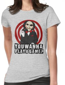 Billy - You wanna play a game? Womens Fitted T-Shirt