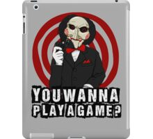 Billy - You wanna play a game? iPad Case/Skin
